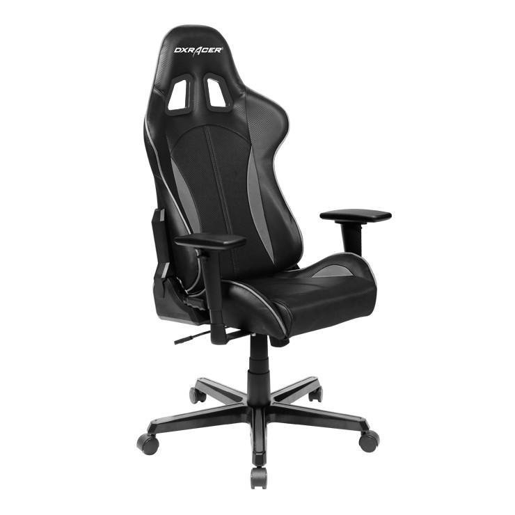 Details about DXRacer Formula FL57 Gaming Chair Sparco Styte Neck/Lumbar  Support Black & Grey