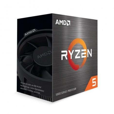 AMD Ryzen 5 5600X 6-Core AM4 3.70 GHz Unlocked CPU Processor with Wraith Stealth