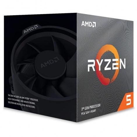 AMD Ryzen 5 3600XT 6 Core Socket AM4 3.80GHz CPU Processor with Wraith Spire Cooler
