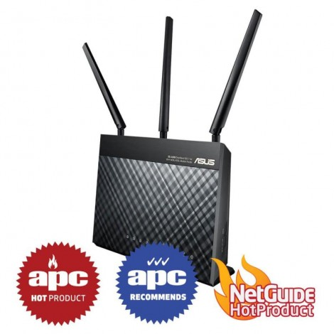 Asus DSL-AC68U AC1900 WiFi Wireless ADSL VDSL Gigabit Modem Router NBN Ready