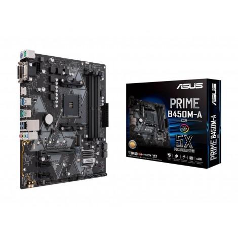 ASUS PRIME B450M-A mATX Motherboard