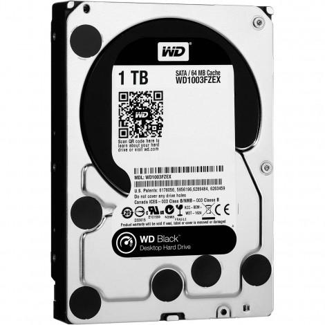"""Western Digital WD Black 1TB 3.5"""" SATA Internal Desktop Hard Drive HDD 7200RPM WD1003FZEX"""