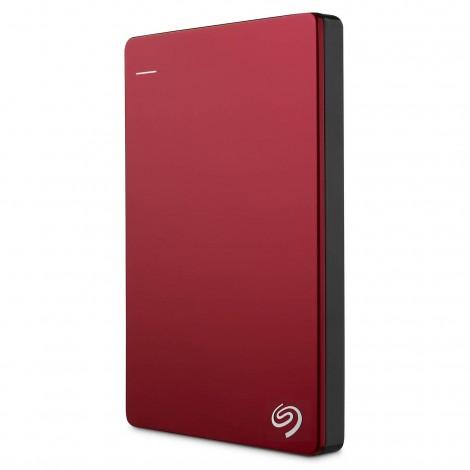 "Seagate Backup Plus Slim 2TB 2.5"" USB 3.0 Portable External Hard Drive HDD Red STDR2000303"
