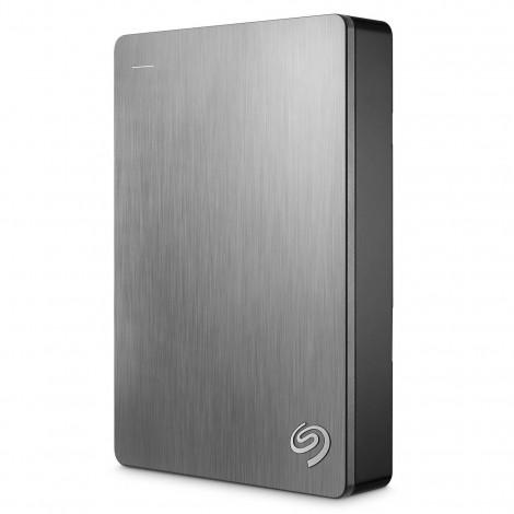"Seagate Backup Plus Portable 5TB 2.5"" USB 3.0 External Hard Drive HDD Silver STDR5000301"