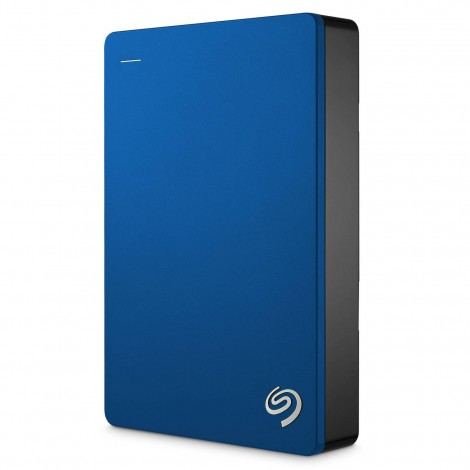 "Seagate Backup Plus Portable 5TB 2.5"" USB 3.0 External Hard Drive HDD Blue STDR5000302"