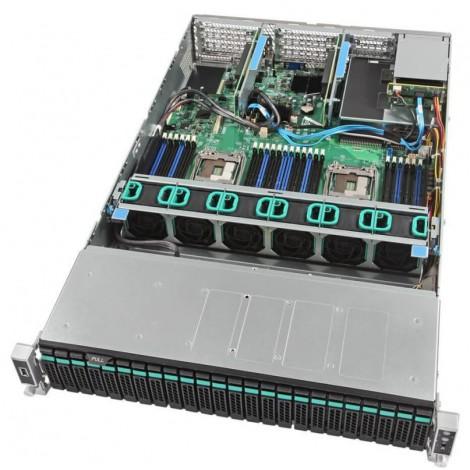 Intel R2224WFTZS Dual Socket Xeon Scalable L9 2U Server
