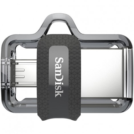 SanDisk 32GB Ultra Dual OTG Micro USB 3.0 Flash Drive Memory Stick Thumb Key SDDD3-032G