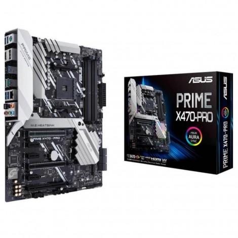 Asus AMD AM4 ATX MOTHERBOARD DDR4 DUAL M.2 HDMI PRIME X470-PRO