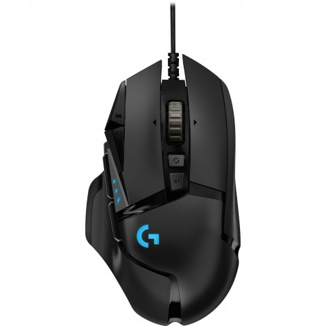 Logitech G502 Hero 16K Sensor RGB LED Tunable USB Optical Wired Gaming Mouse 910-005472