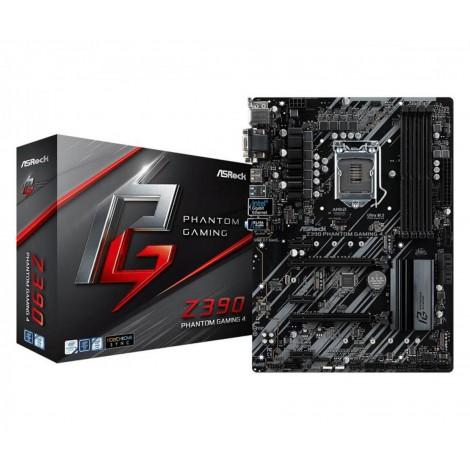 ASRock Z390 Phantom Gaming 4 USB 3.1 HDMI LGA 1151 x4 DDR4 DIMM ATX Motherboard