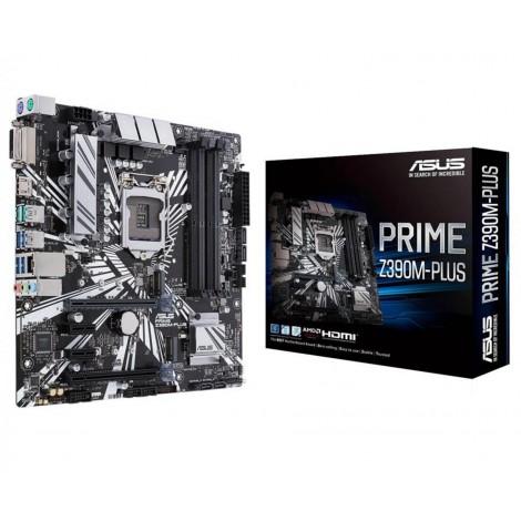 ASUS Prime Z390M-Plus HDMI USB 3.1 LGA1151 x4 DDR4 m-ATX Motherboard