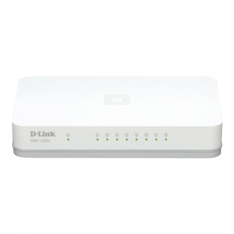 D-Link DGS-1008A 8-Port Gigabit Desktop Switch