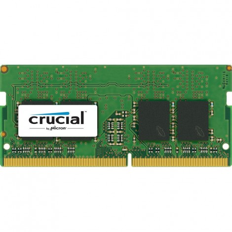 Crucial 4GB DDR4-2400 Laptop SODIMM Memory CT4G4SFS824A PC4-19200 CL17 1.2V RAM