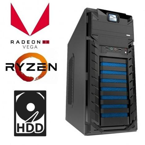 AMD Ryzen 5 2400G Max 3.9G Gaming Computer 8GB 120GB Radeon RX Vega 11 Desktop PC