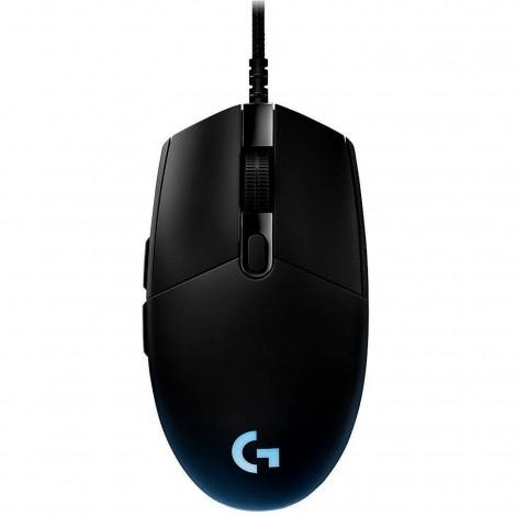 Logitech G Pro No Hero 16K Sensor RGB LED Light USB Optical Wired Gaming Mouse 910-005127