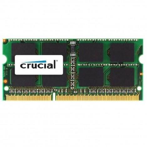 Crucial 4GB DDR3 1600MHz PC3-12800 CL11 204pin SODIMM Laptop Memory RAM 1.35V - CT51264BF160B