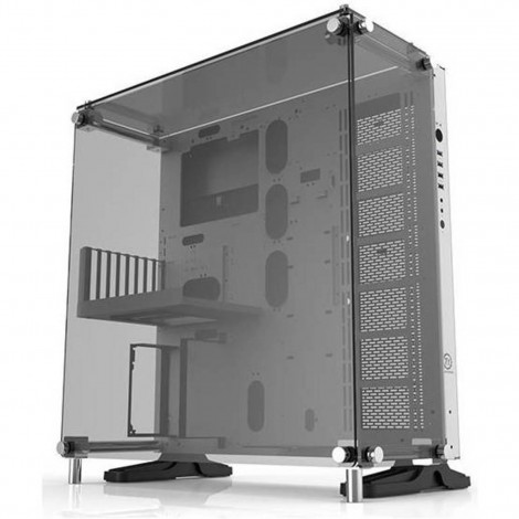 Thermaltake Core P5 Tempered Glass SNOW Edition Open Frame Wall-Mount Case CA-1E7-00M6WN-01