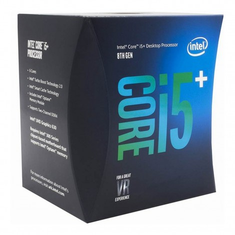 Intel Core i5+ 8400 Hex Core LGA 1151-2 2.80 GHz CPU with 16GB Intel Optane Processor