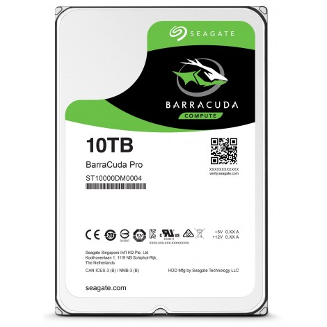 Seagate Barracuda Pro 10TB Hard Disk Drive