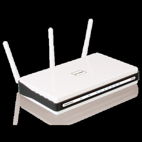 D-Link DIR-655 Xtreme N GIGABIT Wireless Router DIR655 /w 4-Port/ WiFi 300Mbps