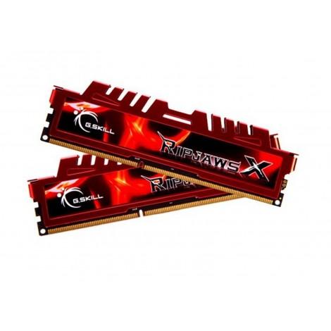 G.Skill RipjawsX 8GB DDR3-1600 Desktop RAM PC3-12800 Dual Channel Intel AMD PC F3-12800CL9D-8GBXL