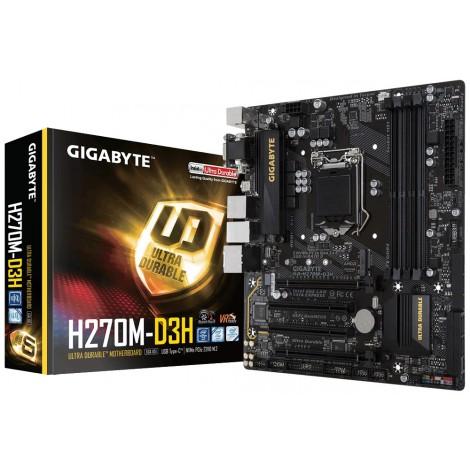 Gigabyte H270M-D3H mATX Motherboard