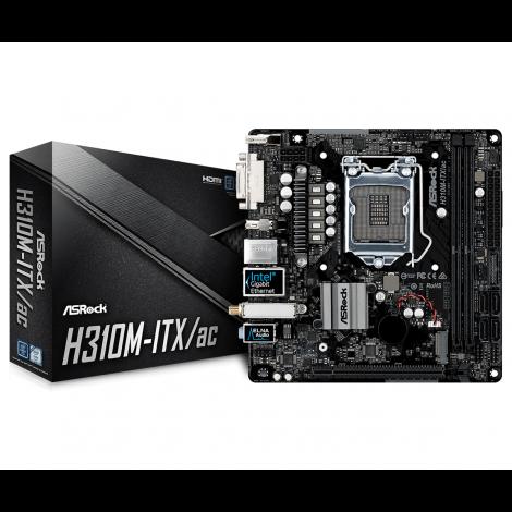 ASRock H310M-ITX/AC Mini-ITX Motherboard