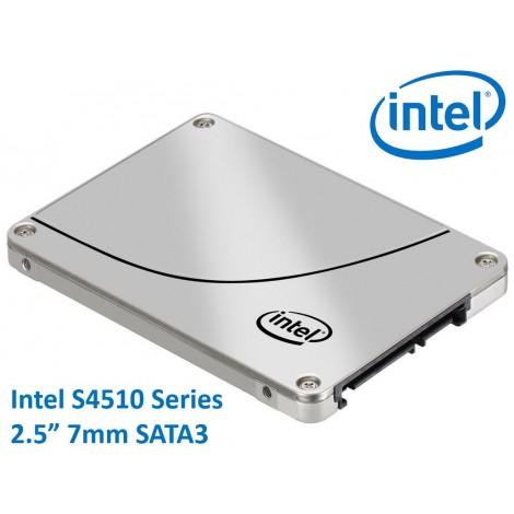 Intel DC S4510 2.5' 480GB SSD SATA3 6Gbps 3D2 TCL 7mm 560R/490R MB/s 95K/18K IOPS 2xDWPD 2 Mil Hrs MTBF Data Center Server 5yrs Wty ~HBI-S4610-480GB