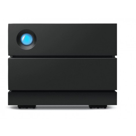 Seagate LaCie 8TB 2BIG Raid STHJ8000800 - Hard drive array - 2 bays- 2 x 4 TB HDD Enterprise - USB 3.1 Gen 2 Data Recovery Service(external)