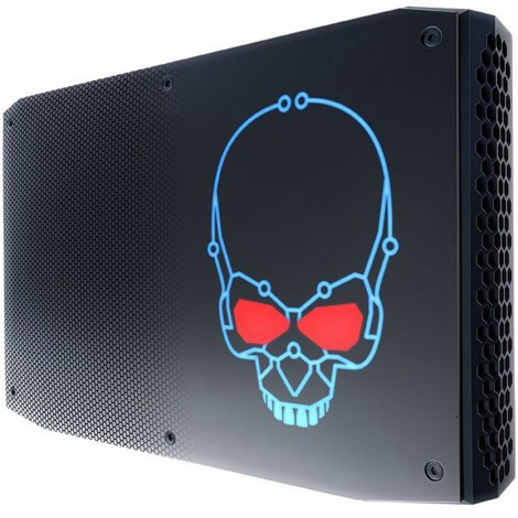 Intel BOXNUC8I7HVK4 Hades Canyon Gaming NUC Kit Mini PC Barebone Core i7 8th Gen 8809G Radeon RX Vega M GH Graphics M.2 AC WiFi BT4.2 HDMI Mini DisplayPort Thunderbolt 3 13x USB Ports