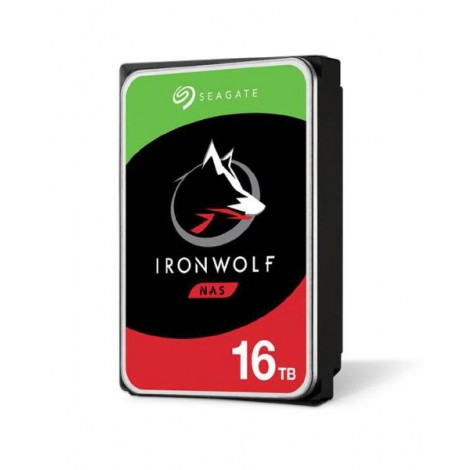 Seagate IronWolf NAS HDD 16TB 3.5 inch Internal SATA 6Gb/s 7200 RPM Cache 3 Year Wty
