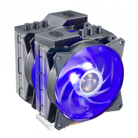Cooler Master MasterAir MA620P RGB CPU Cooler Twin Tower Dual RGB Fan w Controller MAP-D6PN-218PC-R1