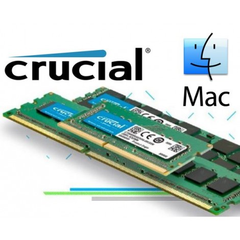 Crucial 4GB (1x4GB) DDR3 SODIMM 1600MHz for MAC 1.35V Single Stick Desktop for Apple Macbook Memory RAM