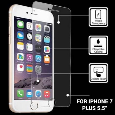 "IPHONE 7 PLUS TEMPER GLASS SCREEN PROTECTOR 5.5"""