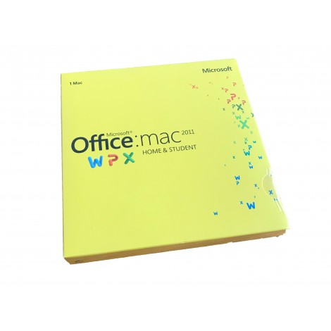 Microsoft Office MAC 2011 Home & Student Retail DVD 1 Mac