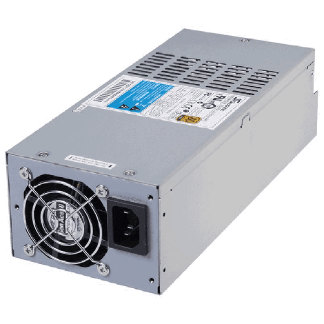 Seasonic 500w 2U Modular Power Supply, 80 Plus Gold Certified, Over-voltage, Over-power, Short circuit protection, 12 Month Warranty