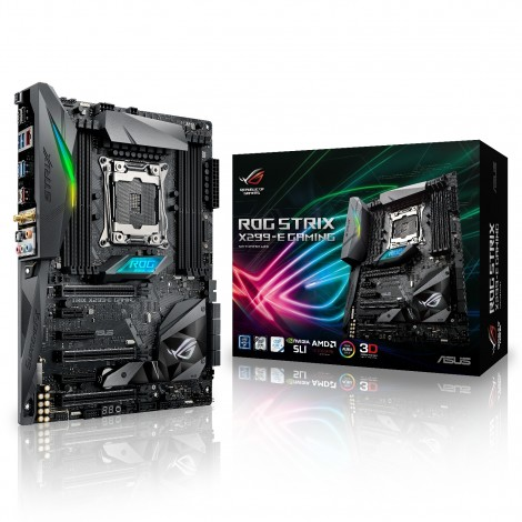 Asus ROG Strix X299-E Gaming Intel LGA 2066 ATX Motherboard USB C RGB LED WiFi