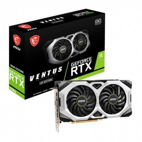 MSI GeForce RTX 2060 VENTUS GP OC 6GB DP HDMI Video Card
