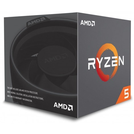 AMD Ryzen 5 2600 Processor 16 MB Cache 3.4 GHz AM4 6 Core 12 Thread Desktop CPU YD2600BBAFBOX