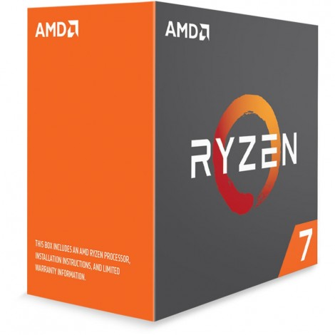AMD Ryzen 7 2700X Processor 16 MB Cache 3.7 GHz AM4 8 Core 16 Thread Desktop CPU YD270XBGAFBOX