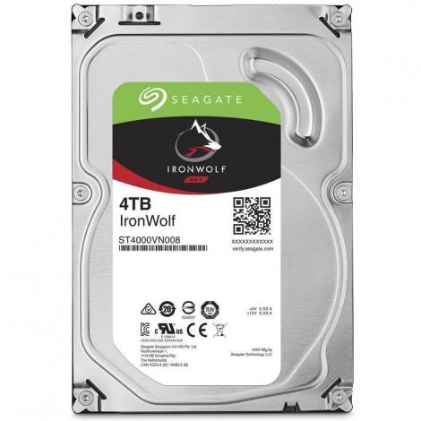 "Seagate IronWolf 4TB 3.5"" SATA Internal NAS Hard Drive HDD 5900RPM 64MB Cache ST4000VN008"