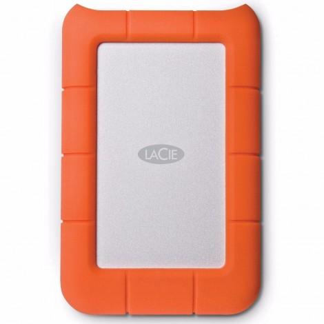 "LaCie Rugged Mini ShockProof 1TB USB 3.0 2.5"" Portable External Hard Drive HDD LAC301558"