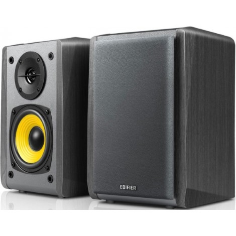 Edifier R1010BT - 2.0 Lifestyle Bookshelf Bluetooth Studio Speakers Black - 3.5mm AUX/RCA/BT/Connects 2 Bluetooth devices/Built-in amplifier BLACK