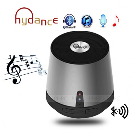 HYDANCE MAXI SOUND MP3 Player with Mini Bluetooth Speaker & Power Bank - SILVER