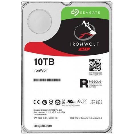 Seagate IronWolf Pro NAS 10TB ST10000NE0008 3.5 inch Internal SATA3 7200rpm 256MB Cache 6Gb/s 5 Year Wty