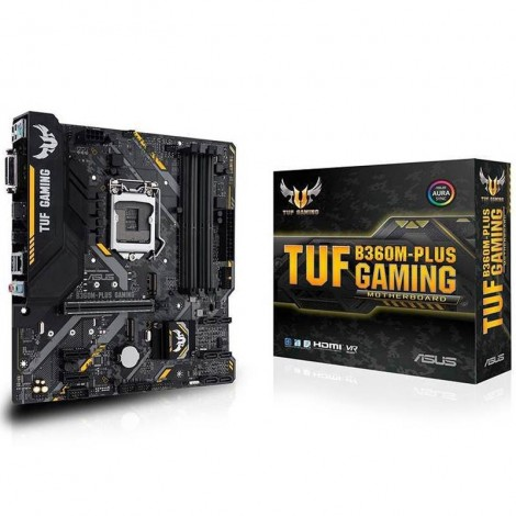 ASUS TUF B360M-PLUS Gaming mATX Motherboard