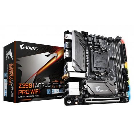 Gigabyte Z390 I AORUS PRO WIFI HDMI USB 3.1 LGA1151 x4 DDR4 Mini-ITX Motherboard GA-Z390-I-AORUS-PRO-WIFI