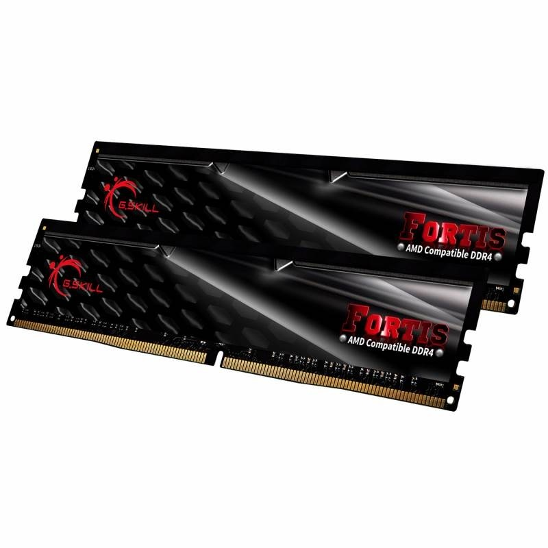 G Skill Fortis 16GB (2x8GB) DDR4 2400MHz Dual Channel RAM KIT C15 AMD Ryzen  Gaming Desktop Memory PC4-19200 1 20V F4-2400C15D-16GFT