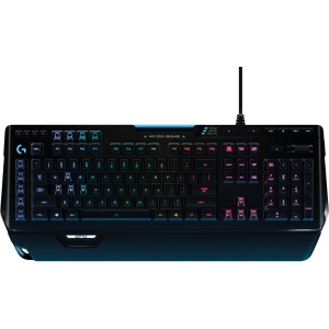 Logitech G910 Orion Spectrum RGB LED Gaming Mechanical Keyboard Romer-G Tactile 920-008021