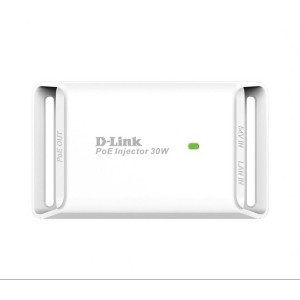 D-Link Gigabit PoE+ injector with Up To 30Watt PoE